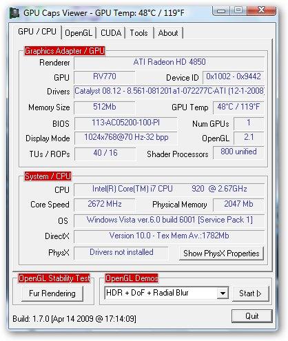 Вы зашли на сайт noin.ru, чтобы бесплатно скачать GPU Caps Viewer (Portable